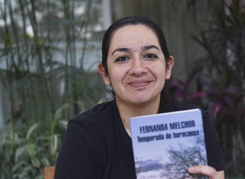 Fernanda Melchor, Temporada de huracanes, foto EFE, 270318
