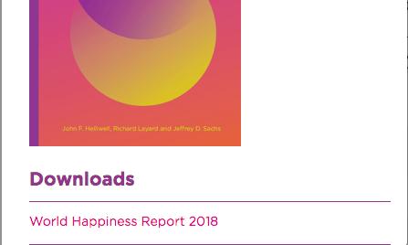 Países más felices