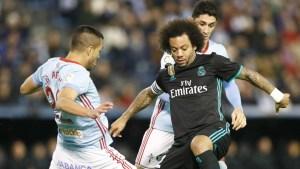 El Real Madrid vs Celta de Vigo