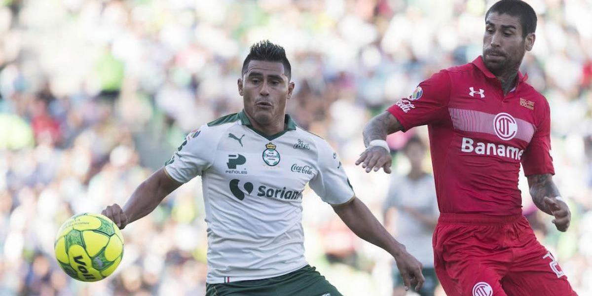 Santos vs Toluca, Twitter, 170518
