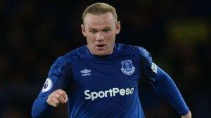 El futbolista ingles Wayne Rooney del Everton