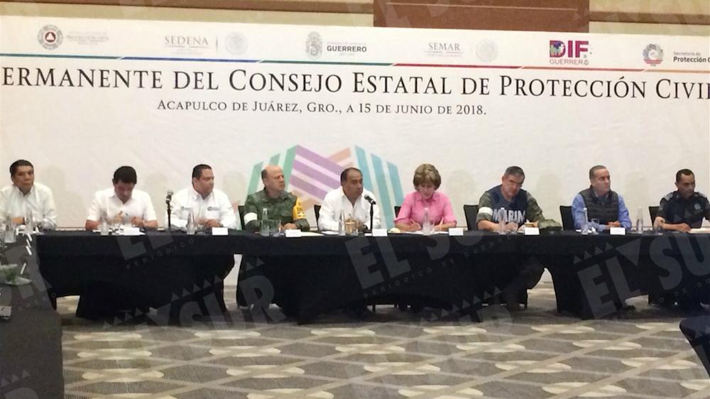 Tormenta tropical Carlotta tiene en alerta por lluvias a 9 estados mexicanos