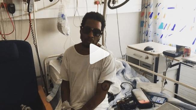 Cantante de Gorillaz se rompe siete costillas en concierto