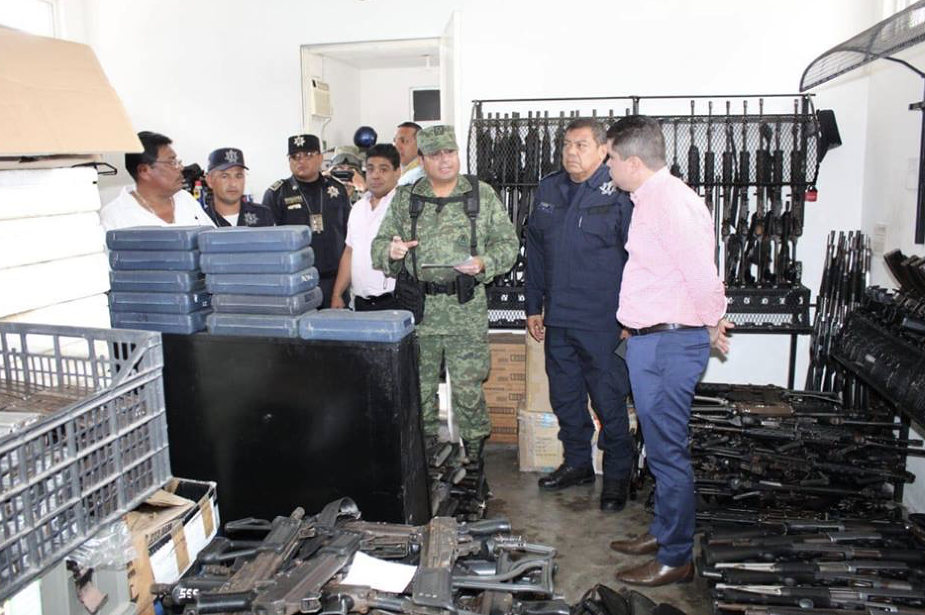 Desaparecen armas y droga en SSP Acapulco