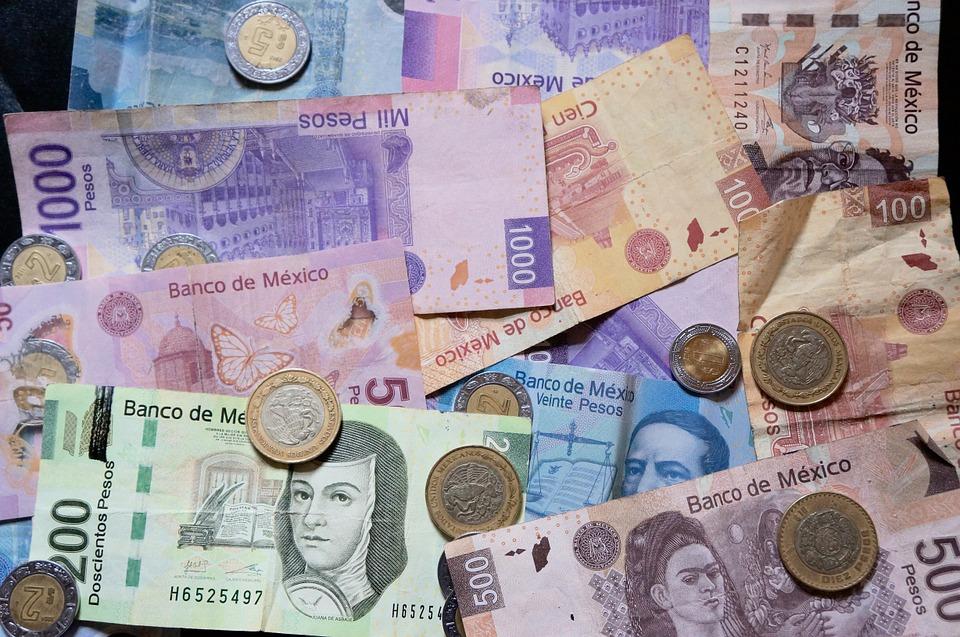 pesos mexicanos, 301018