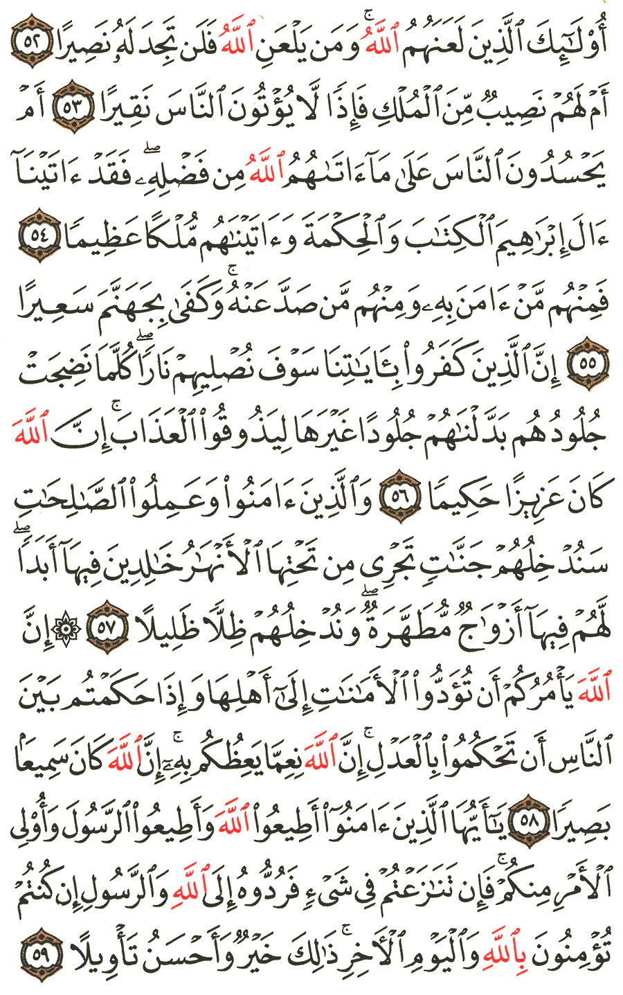 Surat Annisa Ayat 59 : surat, annisa, Surah, An-Nisa, English, Translation, Meaning