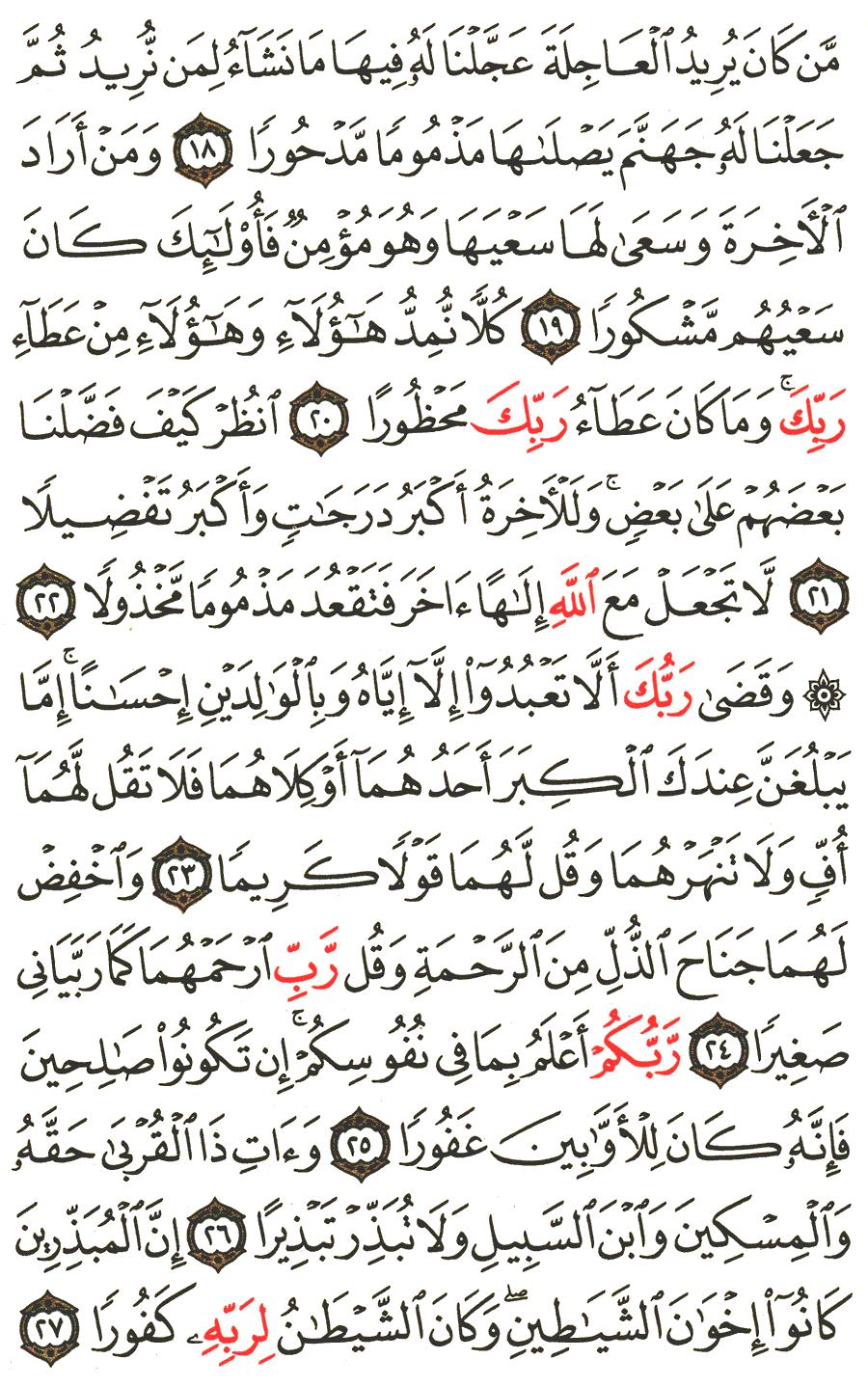 al+isra+ayat+26,+27,+28,+29+ | Tafsirq.com