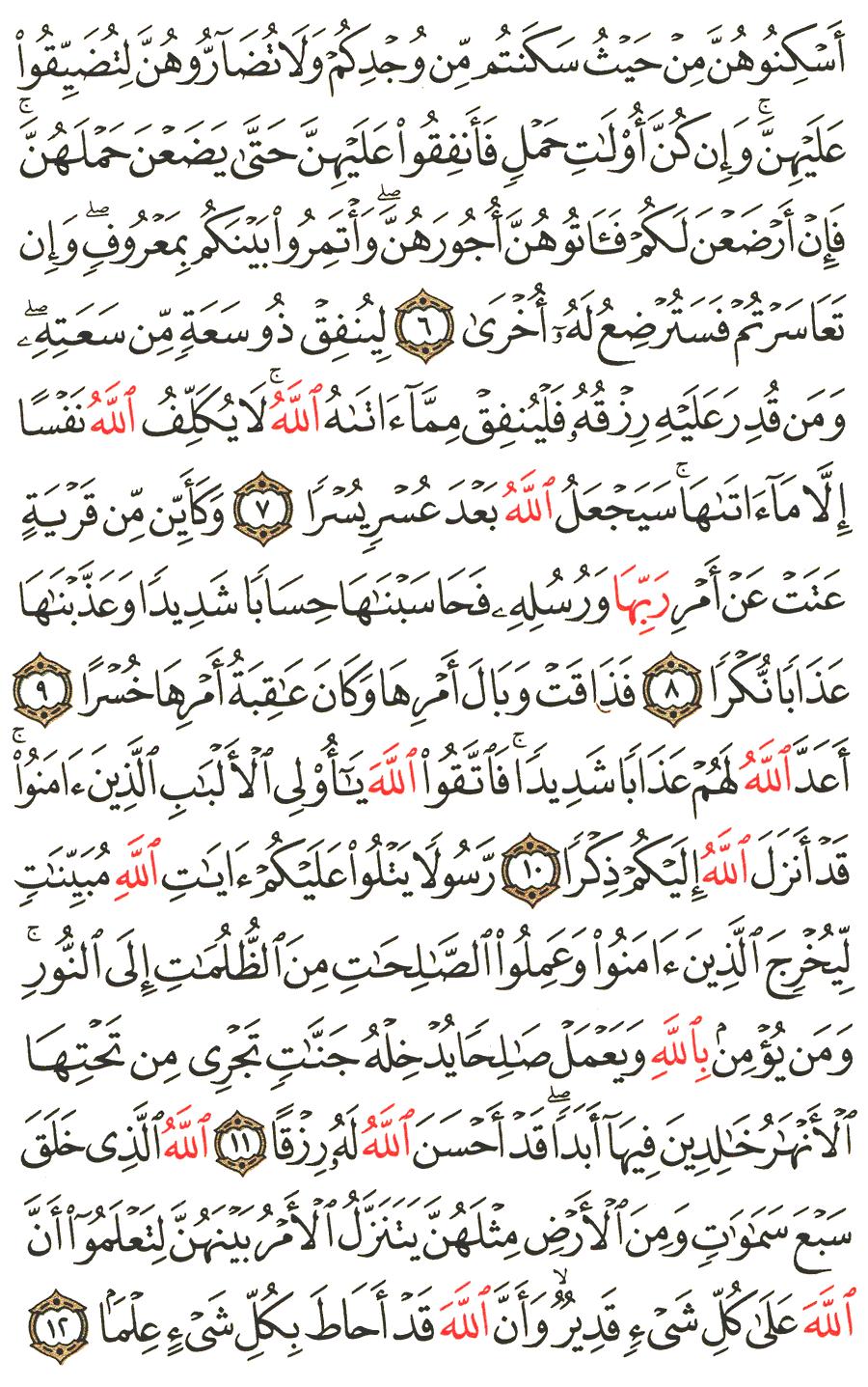 Surat At Talaq : surat, talaq, Surah, At-Talaq, English, Translation, Meaning