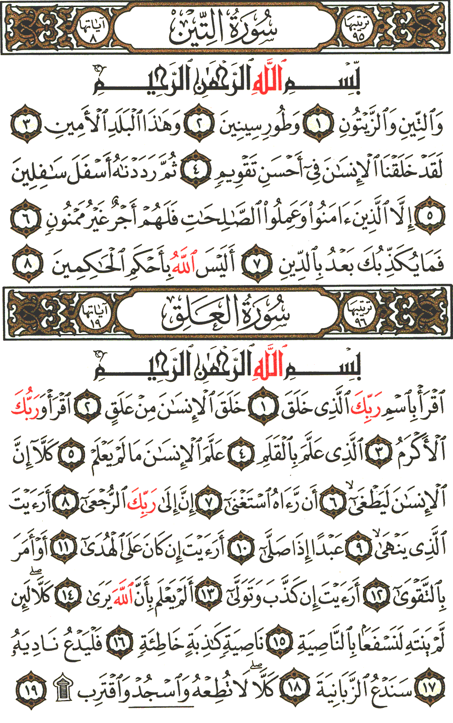 Surah Al Alaq : surah, Surah, At-Tin, Al-'Alaq, English, Translation, Meaning