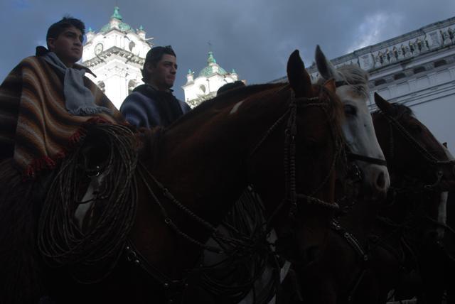 Chagras a caballo