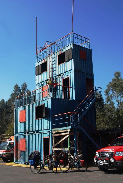 Torre de contenedores