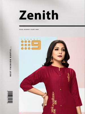 CHANNEL 9 ZENITH KURTI WITH PANT