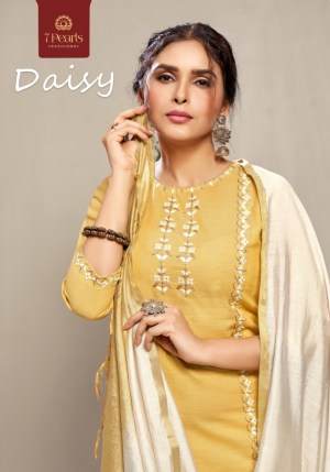 7 PEARLS DAISY TOP WITH PANT AND DUPATTA