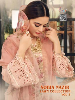 SHREE FABS SOBIA NAZIR LAWN COLLECTION VOL-03