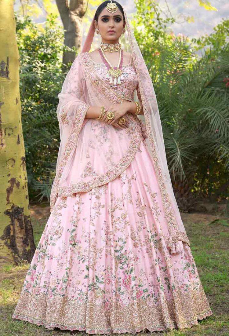 bf6b1a15c7 krishna export pressent bollwood styles Wedding Wear Indian Designer Bridal  Lehenga
