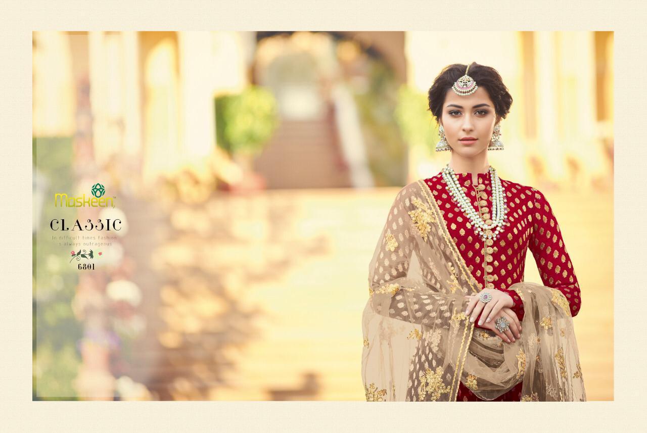 2065bef6b6 Maisha maskeen Presents sultana designer salwar suit catalogues Wholesaler