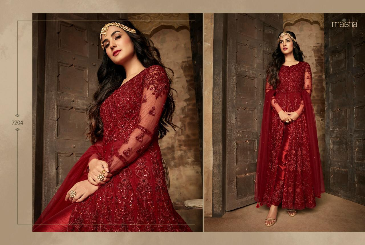 eb02fe610e DOWNLOAD ZIP · DOWNLOAD PDF Maisha Presents aafreen vol-2 Exclusively  collection of heavy designer bridal wear gown Catalogues Wholesaler