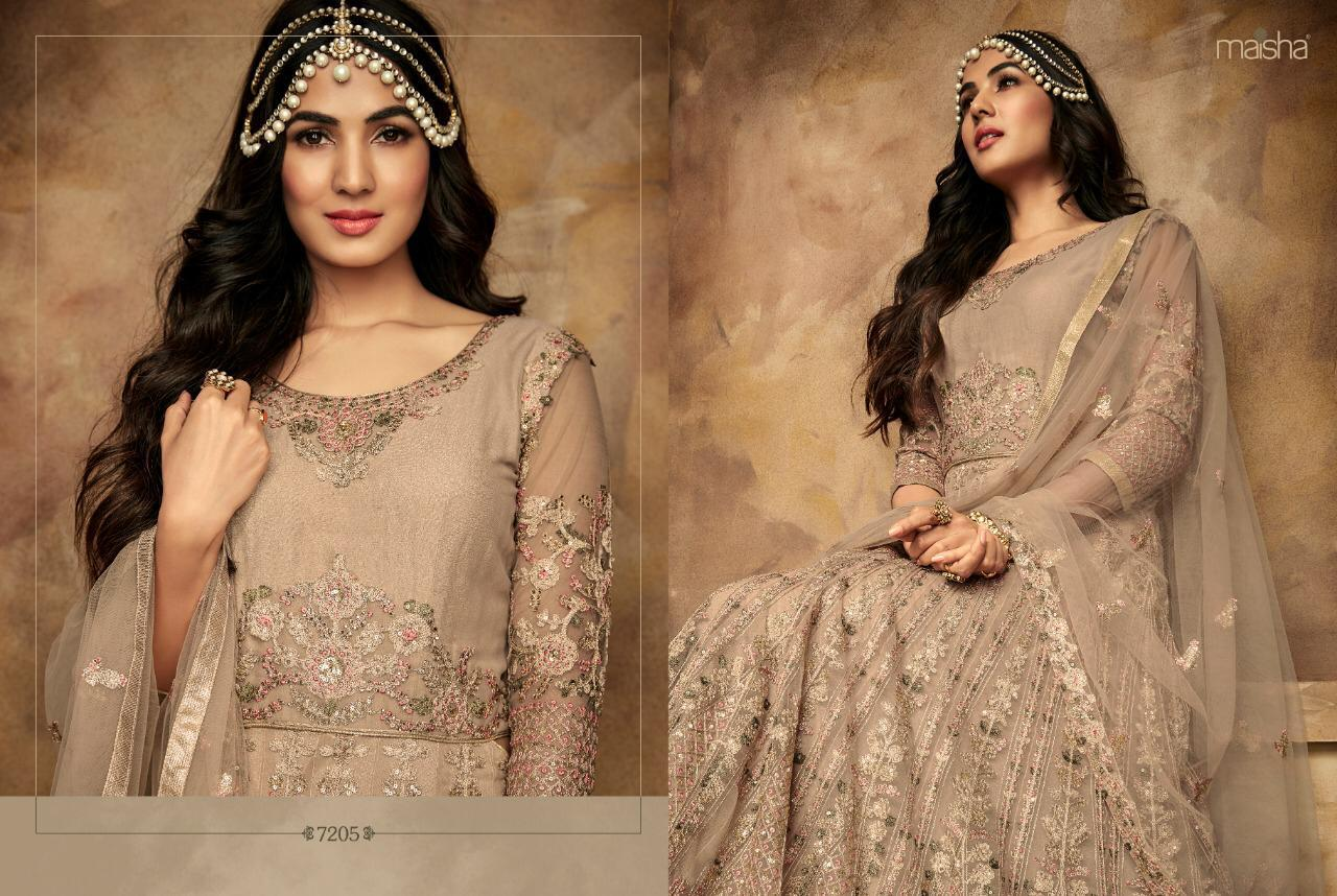 c9609bdecb Maisha Presents aafreen vol-2 Exclusively collection of heavy designer  bridal wear gown Catalogues Wholesaler