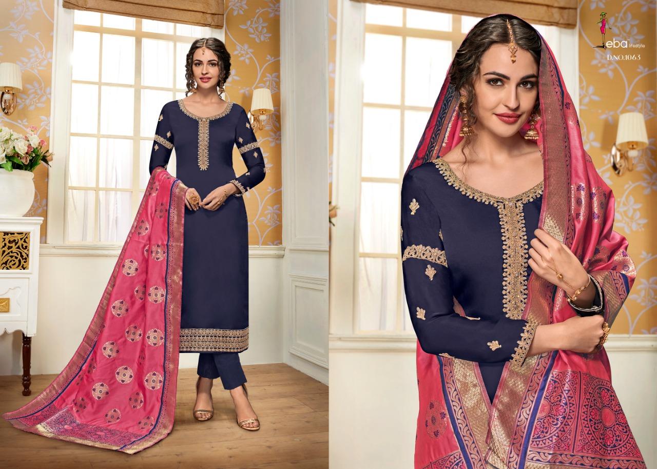 feeb9bb0fb eba lifestyle hurma vol-11 fancy collection of straight salwaar suits