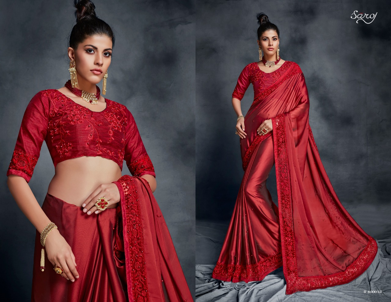 Look - Akshara stylish saree collection video