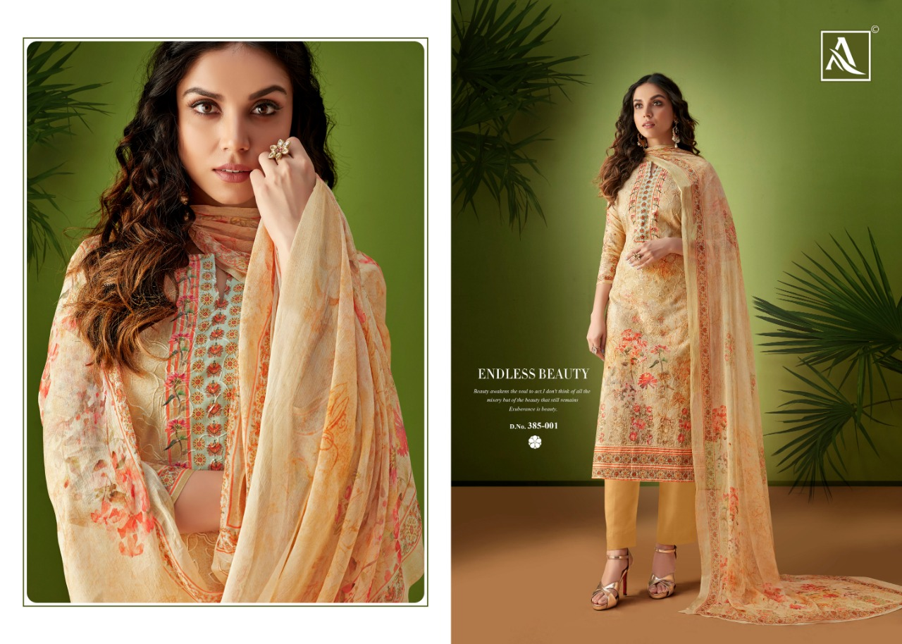 49ab43ab29 DOWNLOAD ZIP · DOWNLOAD PDF Alok suits presents rang pure cotton aari work  salwar suit Material collection