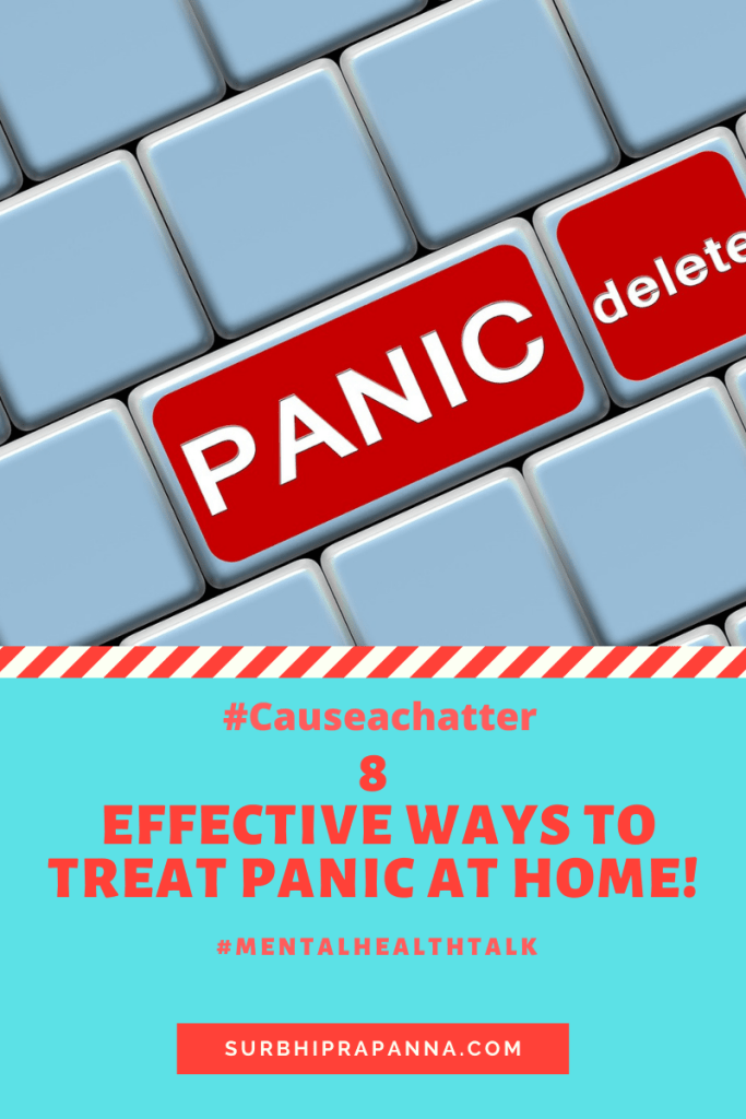 Panic treatment at home