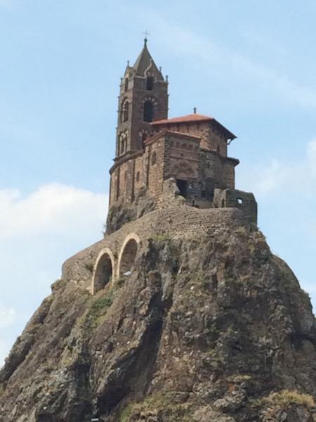 Rocher Saint Michel d'aiguilhle