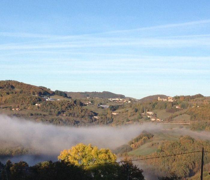 le brouillard se dissipe
