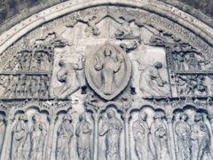 Cahors - tympan cathédrale Saint Étienne