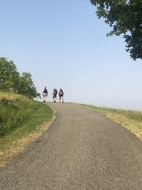 Chemin étrape Lauzerte -Moissac