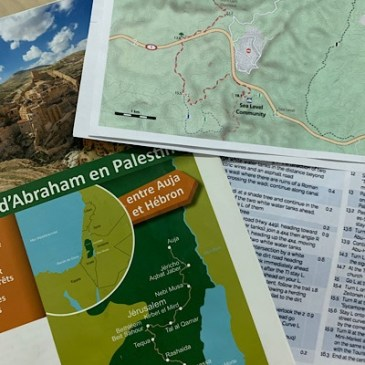 Départ immédiat pour le chemin d'Abraham