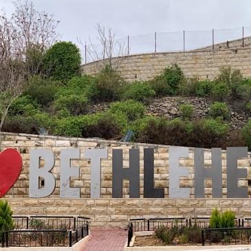 Sur le sentier d'Abraham- 4 de Tal al qamar à Bethléem