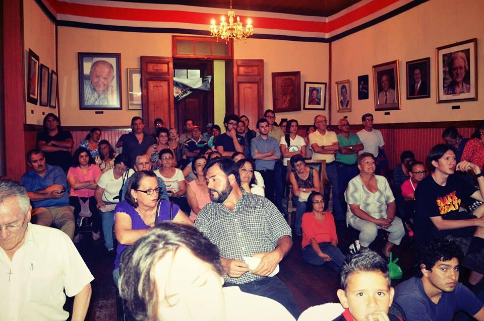 AUTORIDADES DEL AYA EXPONDRAN LOS RESULTADOS DE ESTUDIO DEL ACUEDUCTO MUNICIPAL ANTE EL CONCEJO MUNICIPAL Y LA COMUNNIDAD DE BARVA DE HEREDIA