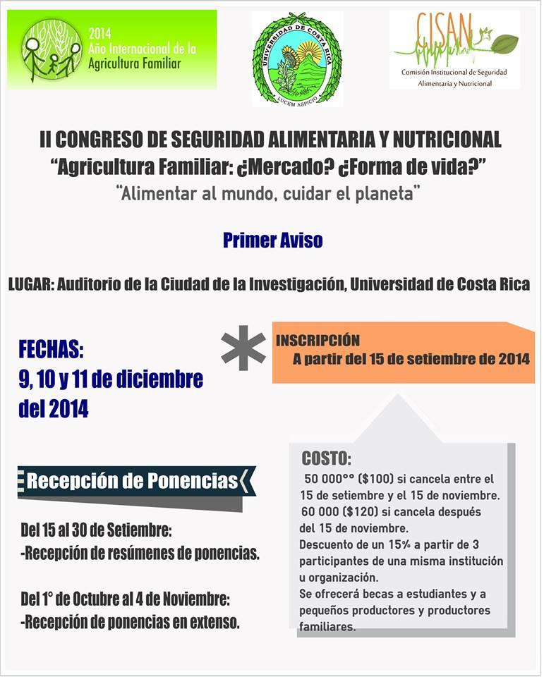 II Congreso Seguridad Alimentaria y Nutricional2