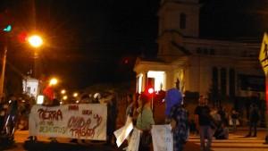 Bloqueo en San Pedro por solidaridad con campesinos del Sur