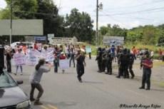 Marcha por la Tierra y el Agua en Zona Sur- la protesta es un derecho, reprimirla es un delito2