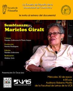 Semblanza de Marielos Giralt