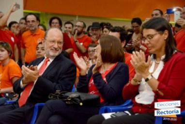 Rector reelecto hace un llamado a la unidad de la comunidad universitaria