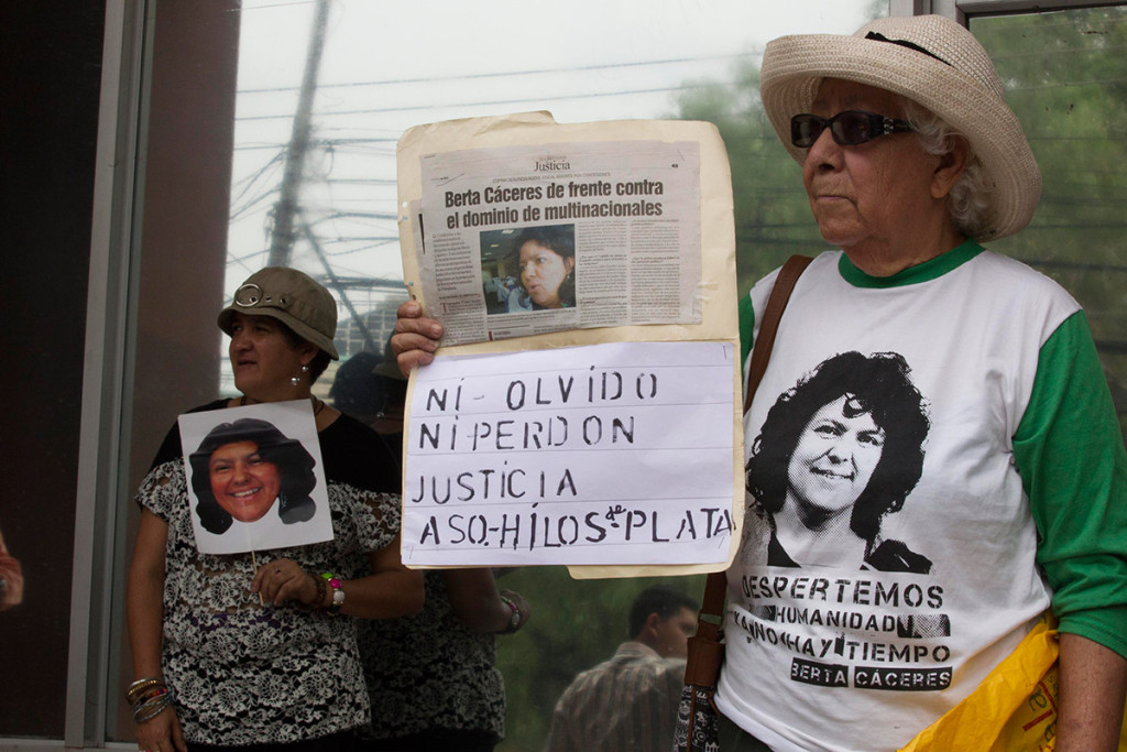 A un ano del asesinato de Berta Caceres