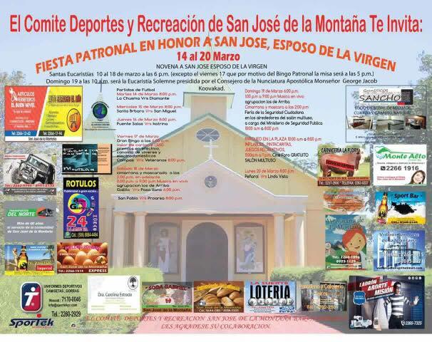 Fiestas Patronales San Jose de la Montana