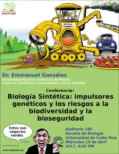 Invitacion conversatorios temas transgenicos y biologia sintetica2
