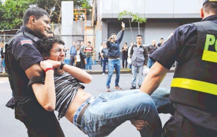 Criminalizacion de la protesta social el caso de Costa Rica