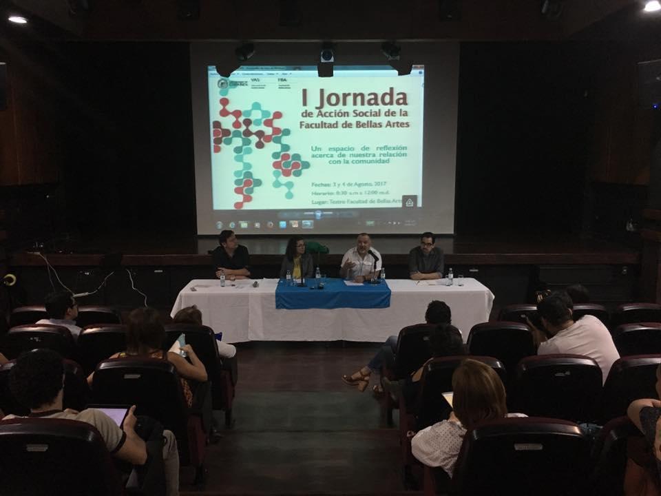 UCR Encuentros comunitarios sobre accion social iniciaron en la Facultad de Bellas Artes2
