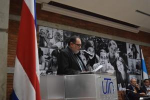 UCR Rector de la Universidad Tecnica Nacional asume la presidencia del Consejo Nacional de Rectores