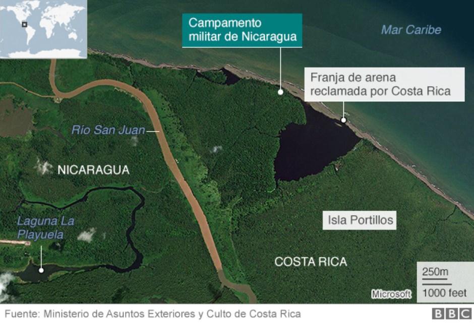 Costa Rica Nicaragua CIJ dara a conocer el 2 de febrero sentencia sobre carpa militar de Nicaragua