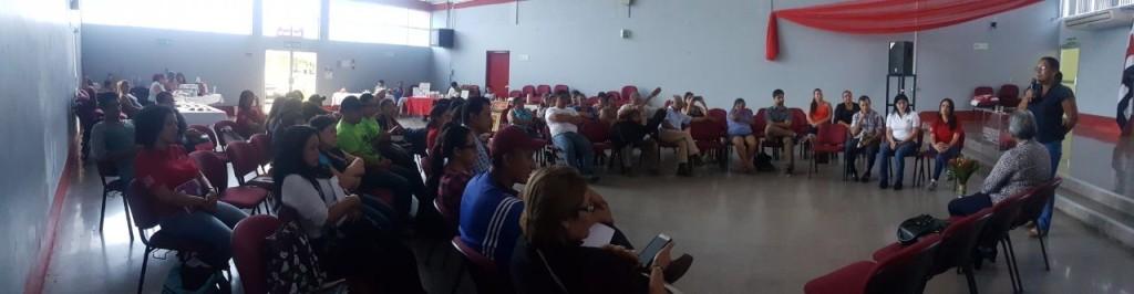 Territorios Seguros llega a estudiantes de administracion rural