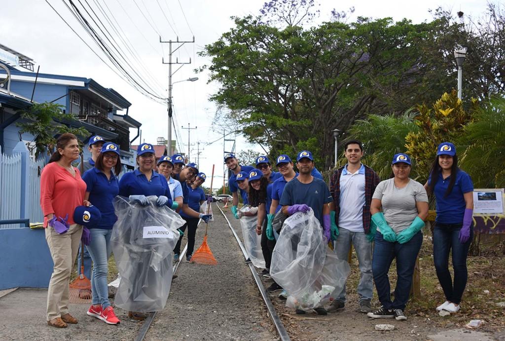 Fundacion UCR embellece y da seguridad a los alrededores de la linea del tren en San Pedro3