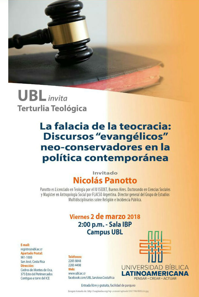 UBL Tertulia Teologica