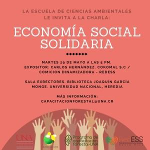 UNA charla Economia Social Solidaria