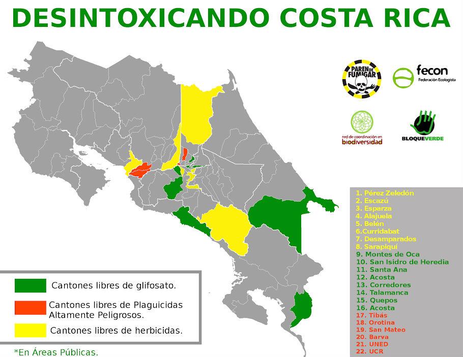 Autoridades de cantones libres de herbicidas se reuniran